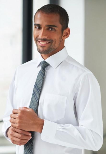 Cheadle Single Cuff Shirt Cotton Poplin