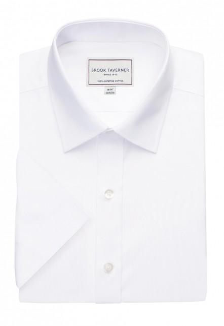 Milano S/S Slim Fit Non-Iron Shirt