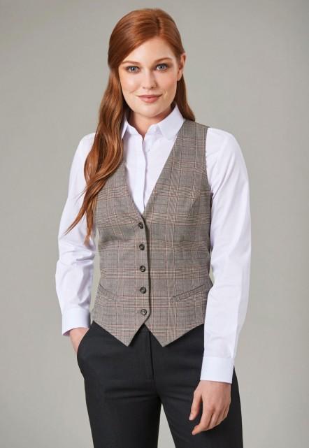 Olivia Check Waistcoat